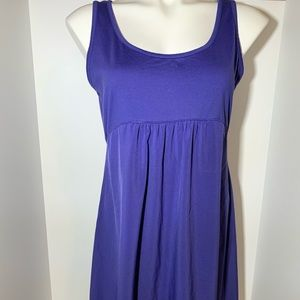 Columbia Omni Shade Dress Purple Size Medium